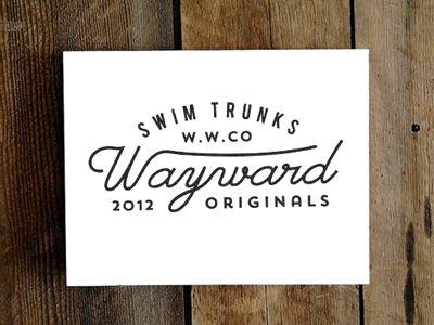 Wayward Swim Trunks by Jorgen Grotdal