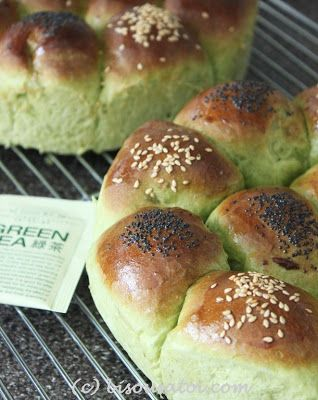 Bisous À Toi: Japanese Green Tea Bread