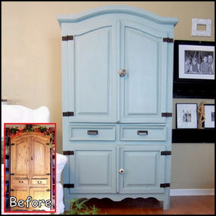 Armoire Makeover (we Have This Same One)
