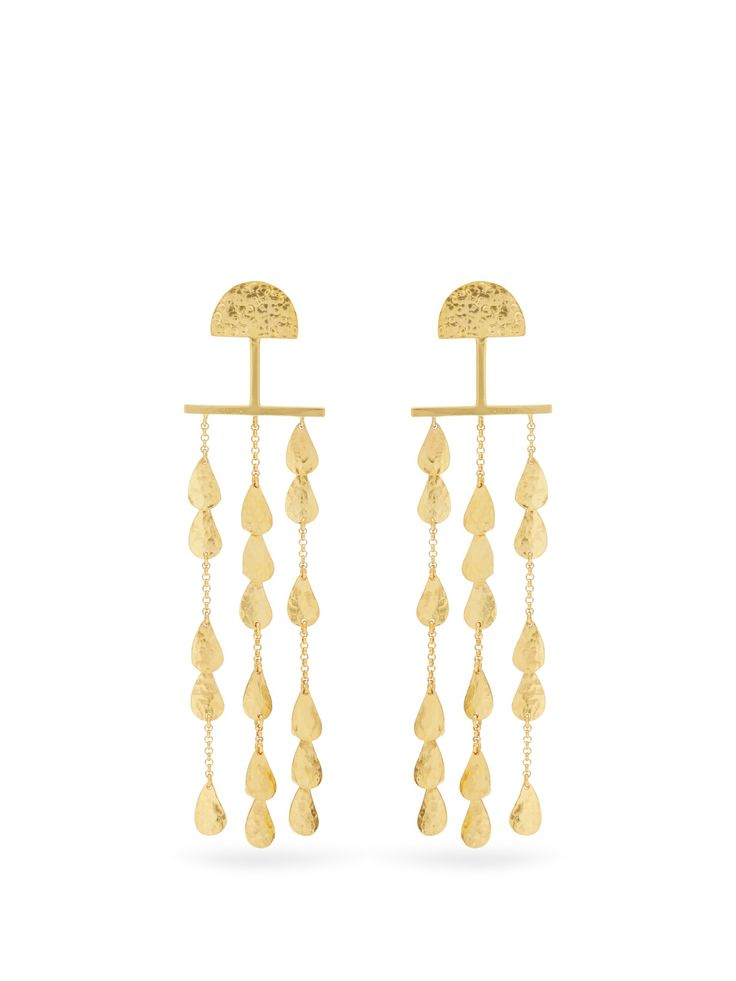 Click here to buy Sophia Kokosalaki Twilight gold-plated earrings at MATCHESFASHION.COM