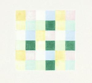 Richard Paul Lohse - Vier + Fünf Farbgruppen