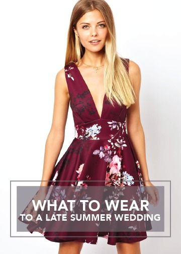 Going To A Late Summer Wedding Here Are 10 Affordable Dresses Wear