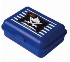Stoere broodtrommel kleur blauw van Capt`n Sharky, ook leuk om te combineren met de bijpassende drinkbeker. (apart verkrijgbaar)