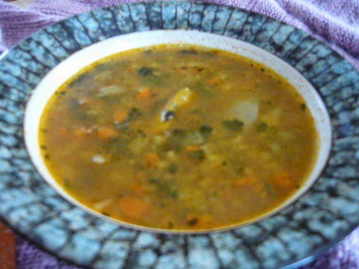 Soupe traditionnelle aux légumes de ma mère