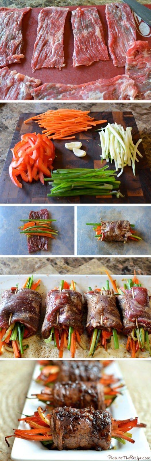 Balsamic Glazed Steak Rolls, dinner, easy dinner, kids can help make