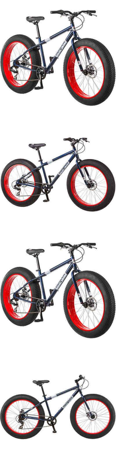 bicycles: 26 Mongoose Dolomite Men S 7-Speed All-Terrain Fat Tire Mountain Bike,Navy Blu -> BUY IT NOW ONLY: $245.14 on eBay!