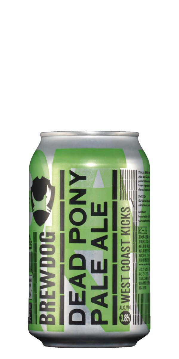 På bara 3.8% har skottarna på BrewDog lyckats packa in rejält med smak. Försök hitta en färsk burk.