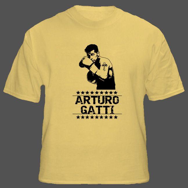 Arturo Gatti Thunder Tribute Boxing T Shirt #Gatti #boxingtshirts