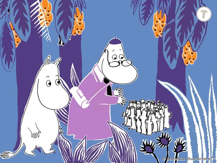 Moomin and the Lost Belongings / Muumilaakson kadonneet tavarat / 姆米谷遗失的物品 / Муми-тролль и пропавшие вещи http://www.spinfy.com/apps/storybooks/moomin-and-the-lost-belongings/