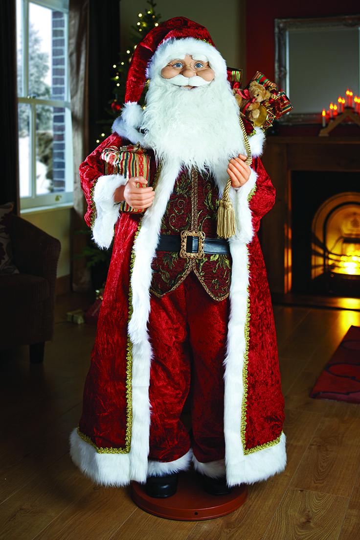 Singing and Dancing Santa #christmas #decorations #santa