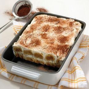 Tiramisù Recette | Weight Watchers