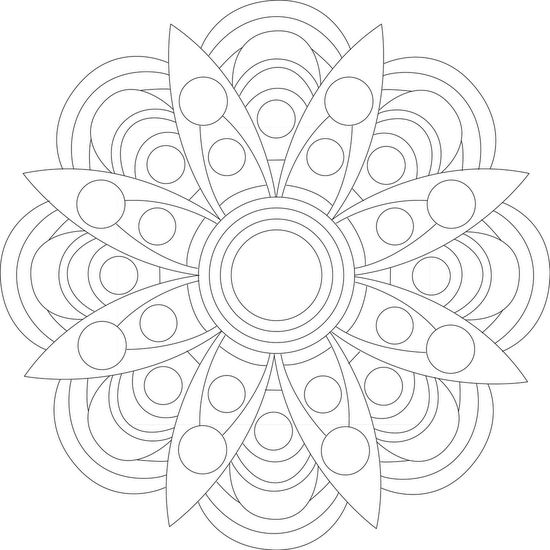 """Groove It"" - Free Printable Mandala Coloring Page #adultcoloring #mandalas #mondaymandala #coloring #ilovetocolor #art #color #printable #coloringpages #print #blackandwhite"