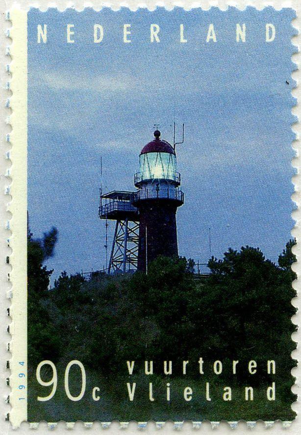 Faros de las islas neolandesas: Faro de Vlieland: Países Bajos. 1994