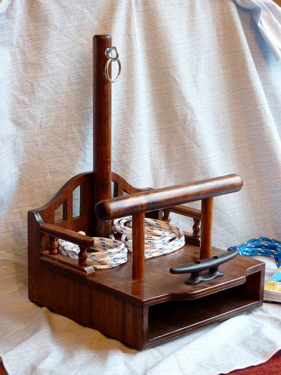 Deluxe Decorative Knot Tying Station Built Like a by jodevickerman