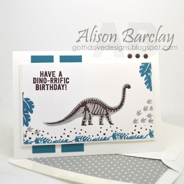 Gothdove Designs - Alison Barclay Stampin' Up! ® Australia