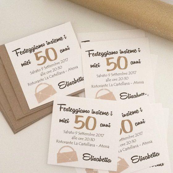 Inviti Per 50 Anni Compleanno Home Blumen Shop Idee Per Il Compleanno Inviti Di Compleanno 50 Compleanno