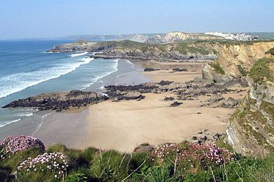 Newquay Lusty Glaze Beach, Cornwall