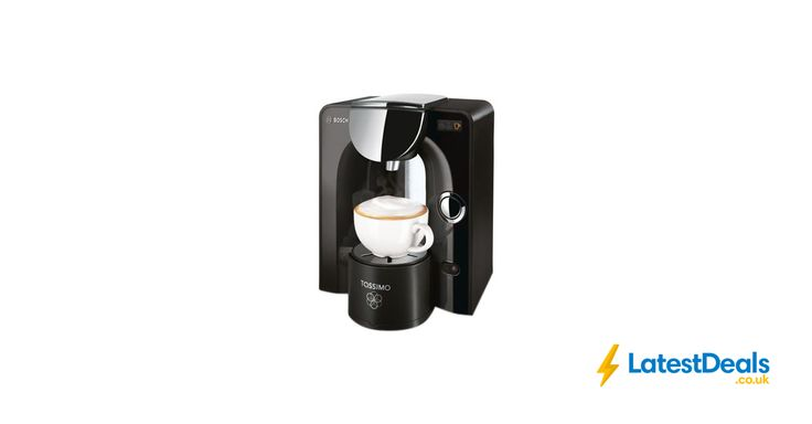 TASSIMO by Bosch Charmy Hot Drinks Machine Black & Chrome Free Delivery, £44.99 at Currys PC World
