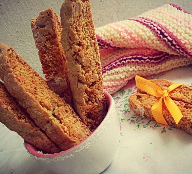 H συνταγή για αυθεντικά ιταλικά biscotti αμυγδάλου