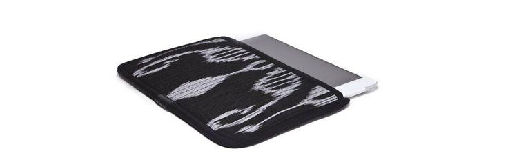 Чехол для Apple iPad Mini, черный с серым в черной окантовке