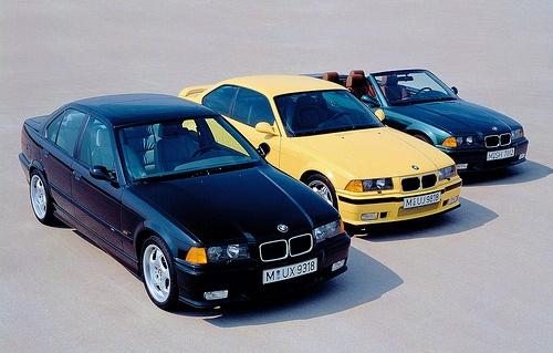 BMW M3 (E36) Model Range