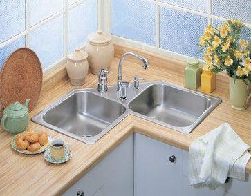ikea emsen corner double sink. Interior Design Ideas. Home Design Ideas