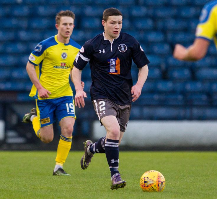Queen's Park's Conor McVey in action during the SPFL League One game between Queen's Park and Stranraer. PICTURE DATE: 6 January 18. PHOTO CREDIT: Ian Cairns