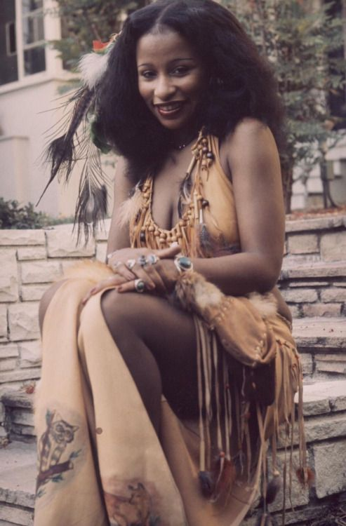 Chaka Khan in the 1970's. Source:harder-than-you-think via harder-than-you-think and Mudwerks