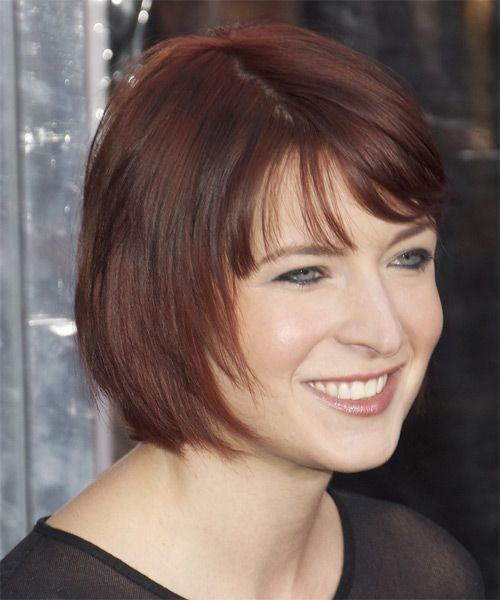 Diablo Cody Short Straight Casual Bob Hairstyle With