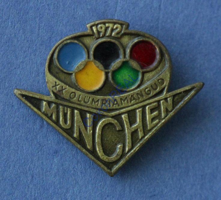 XX летние Олимпийские игры. Мюнхен, ФРГ. 1972 г.