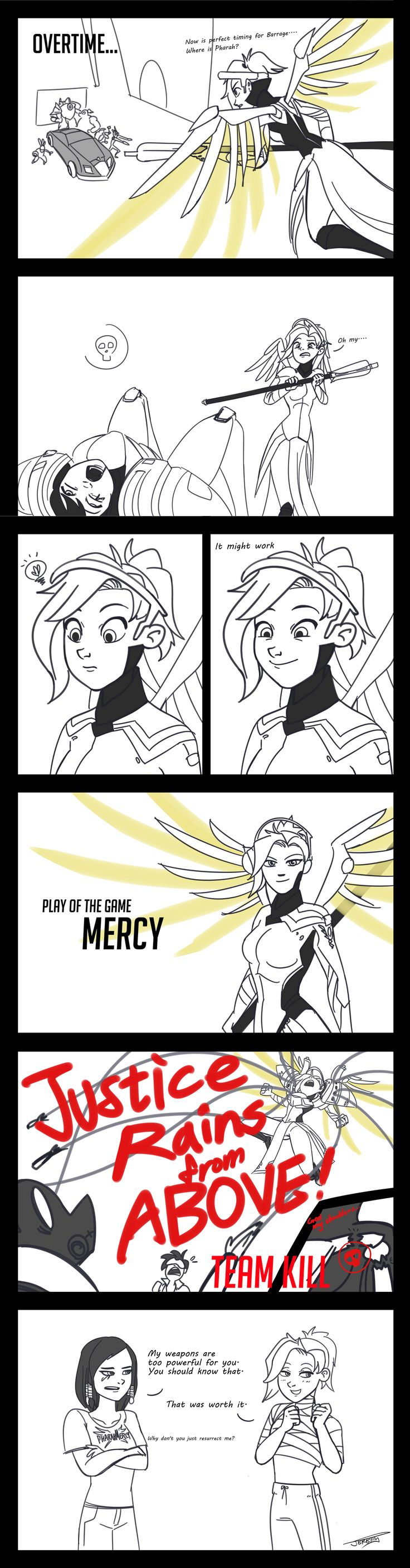Mercy's dream by ChiehChen