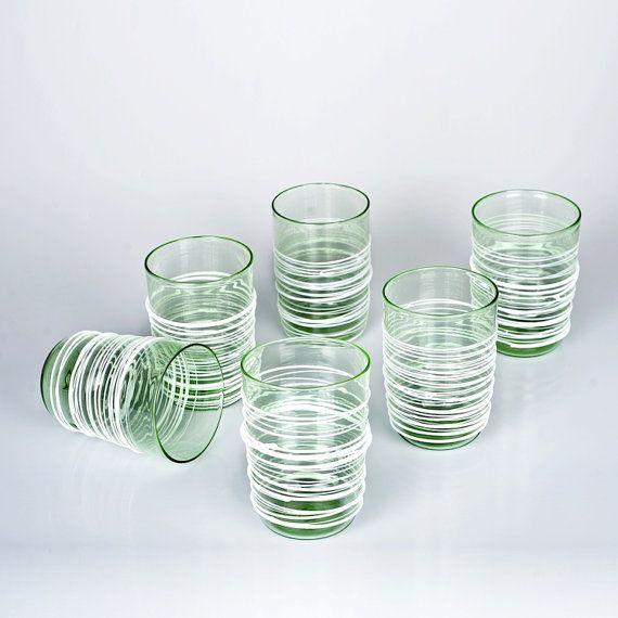 Murano Glass tumblers   Trademark of Origin by YourMurano on Etsy, €310.00