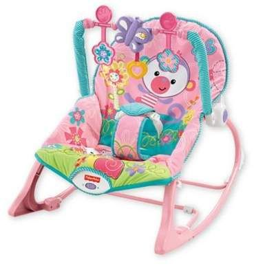 Pink Toddler Rocking Chair Amazon Outdoor Chairs Fisher Price Monkey Infant To Rocker Babygirl Promotion