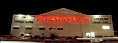 Sportatorium, Dallas - first to go national on television and were contending with Saturday Night Live in ratings; the first to use rock music for entrances. Pioneers in many aspects of wrestling. Fritz was the main attraction for many years in WCCW.