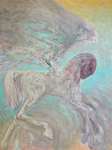 Painting Pegaz Podwodny - Artist Krzysztof Krawiec