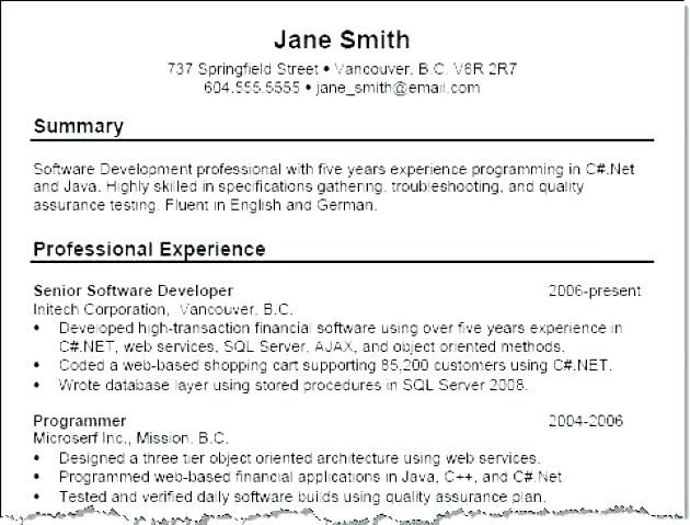 example of resume title good example of resumes titles for