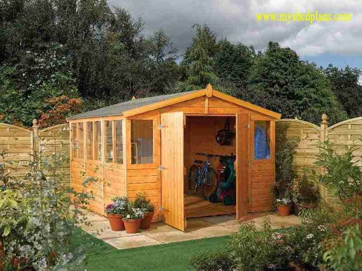 117 best images about garden shed on pinterest for Garden shed door designs