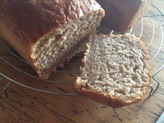 Juli´s Pink Kitchen: Sandwich-Haferbrot mit Honig und Zimt