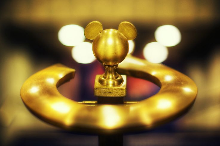 The Disneyland Hotel Anaheim, CA   It's the little details, like a subtle Mickey banister knob against the near-hidden Mickey bokeh.