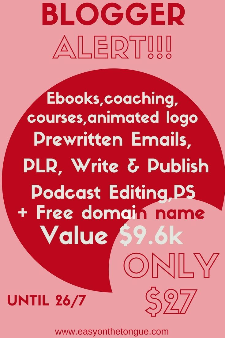 Blogging Concentrated also known as BC Stack offers the incredible digital/blogger pack. 65 Products valued at $9.6k for only $27 - no typo.  Hurry, it's only available a week! For bloggers, writers, marketers, podcasters, designers, VA's and social media