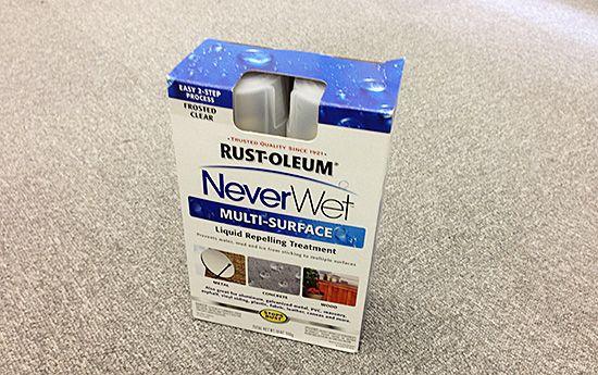あらゆる液体をはじく防水スプレー「NeverWet」を使ってみた - パノラマワールド 中の人のブログ ガジェット日和