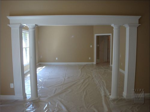 1000 images about millwork on pinterest baseboard trim for Mdf square columns