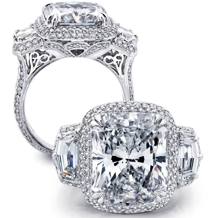 Beaudry Waterfall Cadillac Diamond Ring. 215873