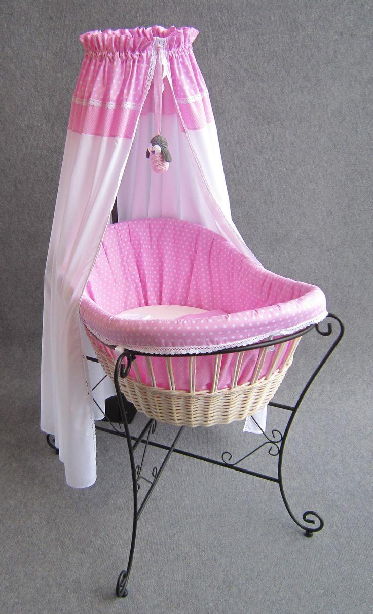 Wieg met roze ster by studio zanoni