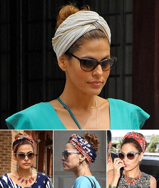 Turbans for a summer to the last