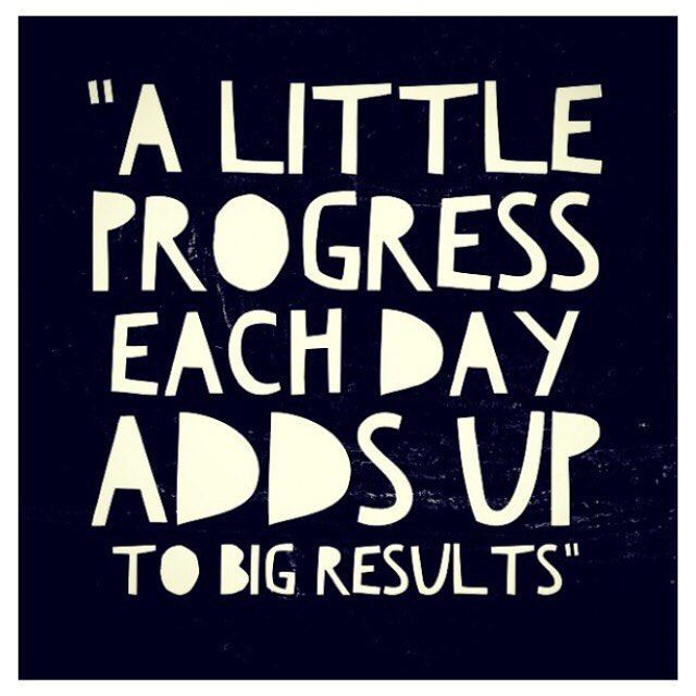 This week, spend some time at the gym or go for a walk. Remember, a little progress each day adds up to big results!