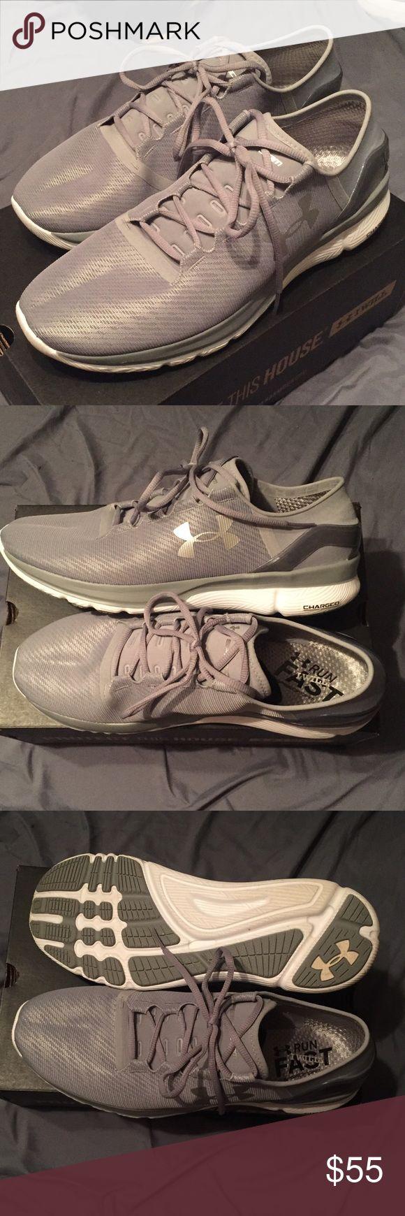 Men's UA Speedform Apollo 2 RF Size 13 Men's UA Speedform Apollo 2 RF Size 13. Reflective. Excellent condition. Worn once. Still have box. Under Armour Shoes Athletic Shoes