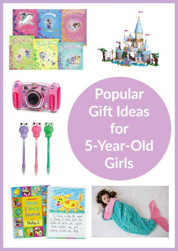 Gift Ideas For 5 Year Old Girls