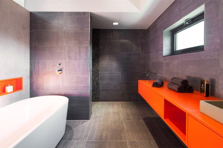 Ventilator Badkamer Beste ~ over Oranje Badkamers op Pinterest  Verbrande Sinaasappel Badkamers