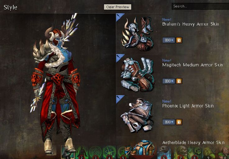3 New Armor Skins Hit the GW2 Gem Store Today